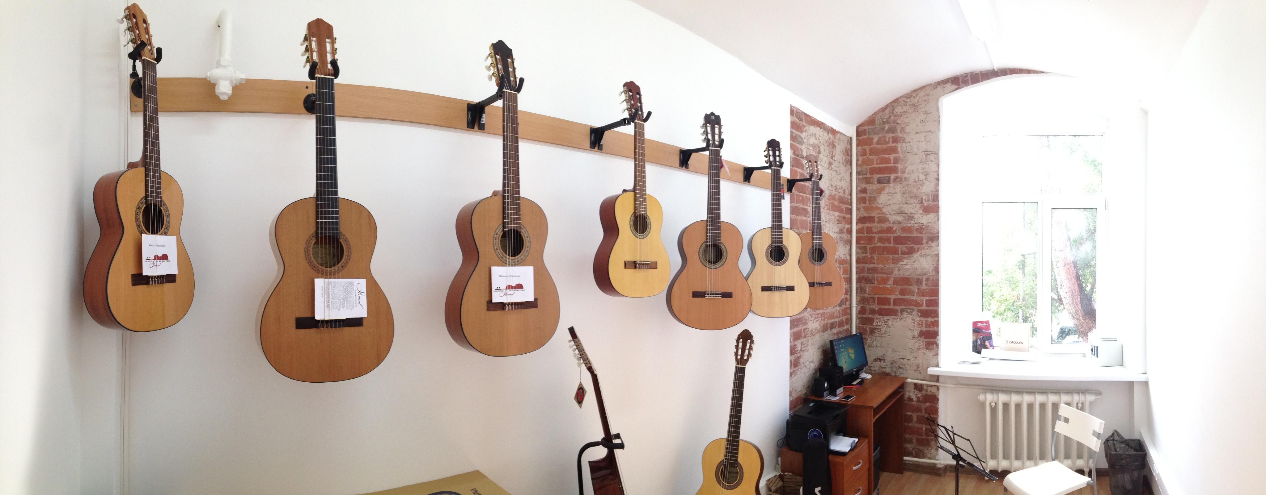 Торрес магазин классических гитар в Москве